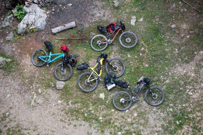 Bikepacking v Považskom Inovci